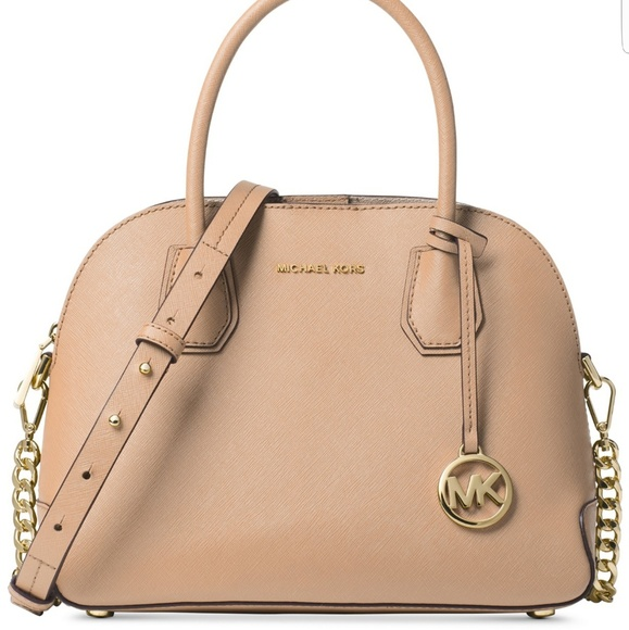 Michael Kors Cindy Medium Dome Satchel NWT